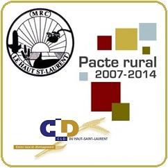 MRC-et-CLD-Haut-St-Laurent-plus-Pacte-rural-2007-2014-logos-publies-par-INFOSuroit