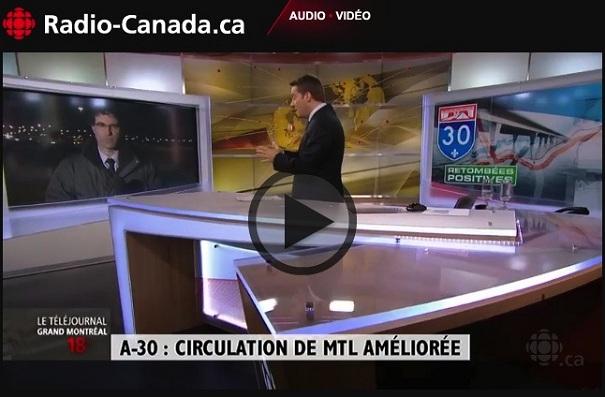 Radio-Canada-Telejournal-Mtl-29-janvier-2013-Reportage-Autoroute-30