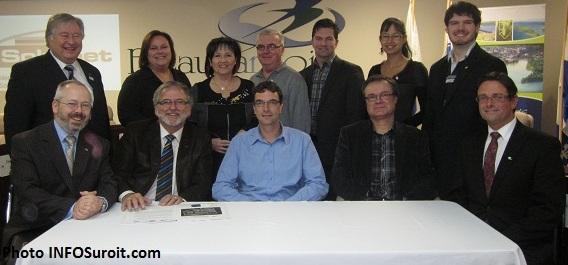 Representants-Solumet-Ville-Beauharnois-CLD-Beauharnois-Salaberry-plus-deputes-Photo-INFOSuroit