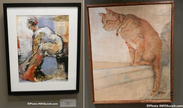 Tableaux-Vision-Mixte-et-Chat-de-Line_Desrochers-Galerie-d-art-MRC-Photo-INFOSuroit