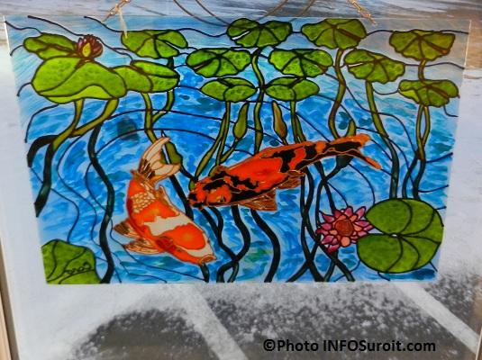 oeuvre-Poissons-dans-l-eau-de-l-artiste-Carole_Lavoie-Galerie-art-de-la-MRC-Photo-INFOSuroit
