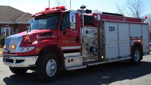 Camion-pompiers-Service-securite-incendie-Sainte-Barbe-Photo-courtoisie