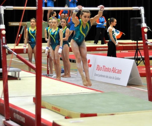 Jeux_du_Quebec-Sud-Ouest-equipe-feminine-de-gymnastique-Photo-Mission-Sud-Ouest