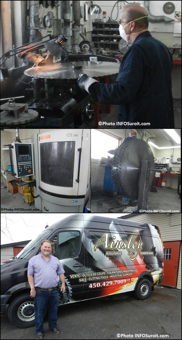 RLafleur-avec-grande-scie-Vollmer-scies-et-CDulude-avec-camion-Aiguisage_Ainsley-Photos-INFOSuroit_com