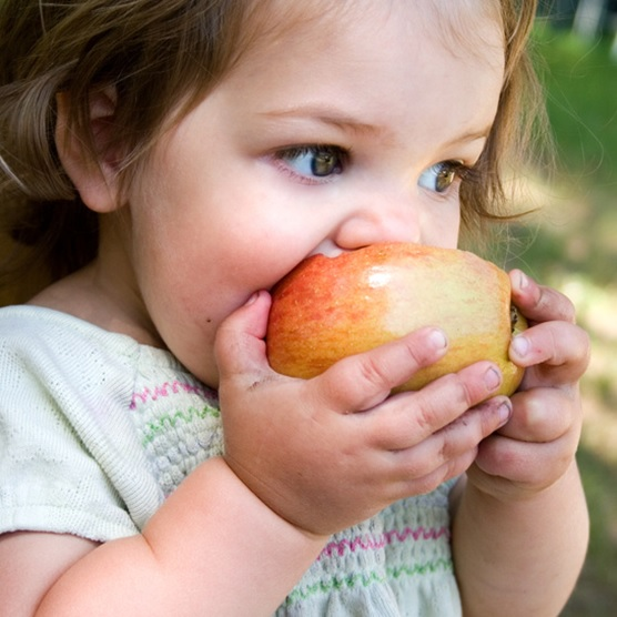 enfant-pomme-saine-habitude-de-vie-nutrition-Photo-CPA-publiee-par-INFOSuroit