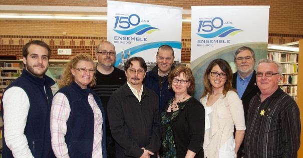 membres-du-comite-des-fetes-150-ans-Beauharnois-avec-auteur-Marcel_Labelle-Photo-courtoisie
