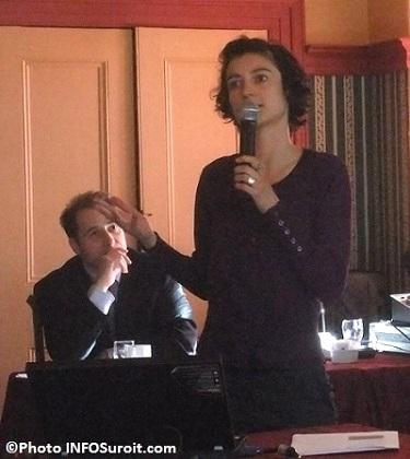 Deleris_Fanny-et-derriere-Francois_Moreau-du-Conseil-regional-environnement-Monteregie-Photo-INFOSuroit