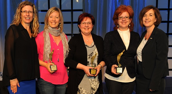 Diane_Dufresne-Veronique_Landry-Manon_Tourigny-Louise_Bergeron-et-Julie_Faucher-Gala-COMAQ-2013-Photo-courtoisie