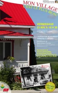 affiche-Mon-village-c-est-le-plus-beau-St-Urbain-Premier-Publiee-par-INFOSuroit