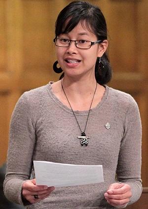 Anne-Minh-Thu-Quach-deputee-de-Beauharnois-Salaberry-allocution-Chambre-des-communes