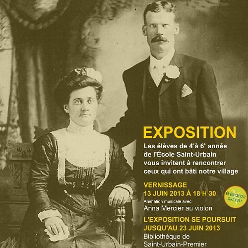 Exposition-les-batisseurs-de-mon-village-Extrait-affiche-du-Comite-culturel-Saint-Urbain-Premier