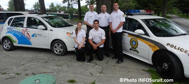 Lancement-Securi-Parc-2013-avec-agents-et-cadets-policiers-parc-Delpha-Sauve-Valleyfield-Photo-INFOSuroit_com