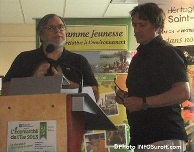 Lancement-saison-2013-sur-Ile-Saint-Bernard-Paul-Sauve-et-Luc_LEcuyer-Photo-INFOSuroit_com