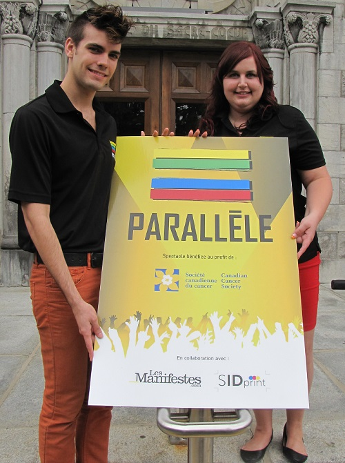 Miguel_perreault-et-Mylene_St_Onge-organisateurs-spectacle-benefice-Parallele-Societe-canadienne-cancer-photo-courtoisie-publiee-par-INFOSuroit