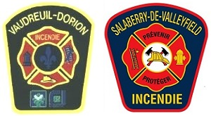 Ecussons-pompiers-Service-securite-incendie-Vaudreuil-Dorion-et-Salaberry-de-Valleyfield