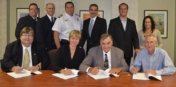 Incendie-entente-partenariat-signature-protocole-Chateauguay-et-Saint-Isidore-Photo-courtoisie