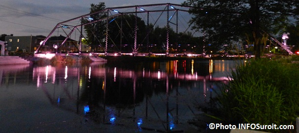 Pont-patrimonial-Jean-De-La-Lande-a-Valleyfield-en-soiree-Photo-INFOSuroit_com