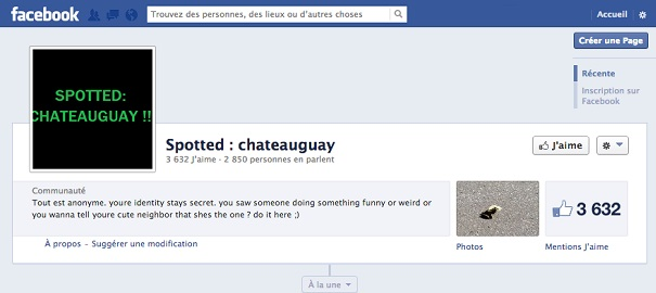 Facebook-Page-Spotted-Chateauguay