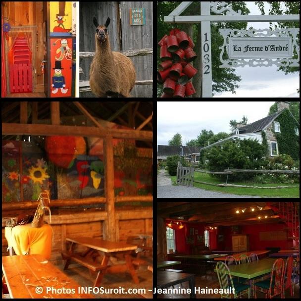 Ferme-d-Andre-a-Ormstown-entree-lama-cafetaria-Montage-Photos-INFOSuroit_com-Jeannine_Haineault