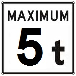 Panneau-signalisation-MTQ-Restriction-de-charge-5-tonnes