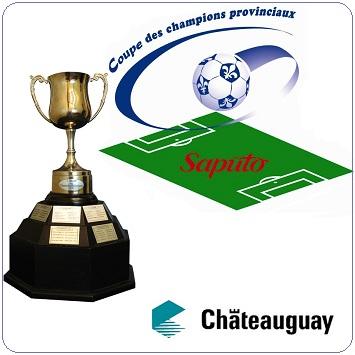 Coupe-des-champions-provinciaux-Saputo-Soccer-AA-avec-trophee-et-logo-Chateauguay
