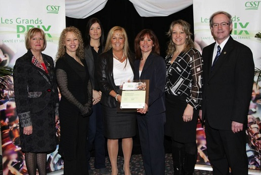 Grand-Prix-Sante-securite-du-travail-CSST-Valleyfield-2013-gagnants-CSSS-Jardins-Rousillon