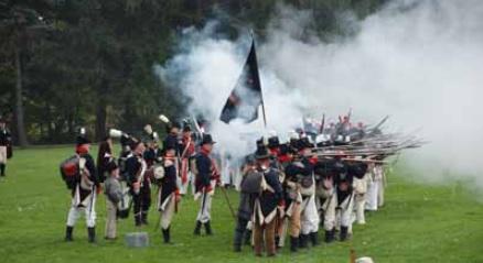 Reconstitution-historique-guerre-1812-Ormstown-photo-Robert_McGee-publiee-par-INFOSuroit