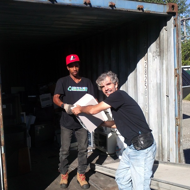 Recuperation-appareils-electroniques-a-Recyclerie-Beauharnois-Salaberry-via-ecocentre-Beauharnois-Photo-MRC