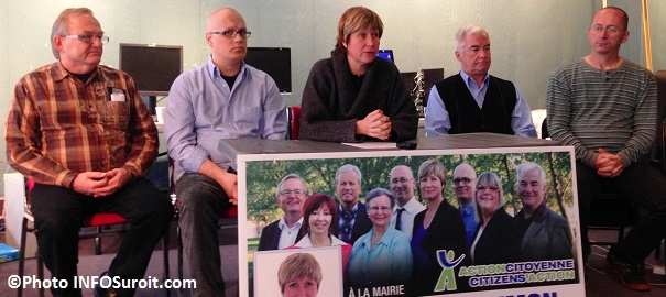 Alain_Cote-Guillaume_Dumas-et-Nathalie_Simon-Michel_Pinard-et-Pierre_Gloutnay-du-Parti-Action-citoyenne-de-Chateauguay-Photo-INFOSuroit_com