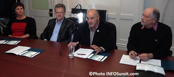 Elections-municipales-Diane_Morin-Claude_Beaudoin-Guy_Pilon-et-Robert-A_Laurence-Parti-Action-Vaudreuil-Dorion-Photo-INFOSuroit