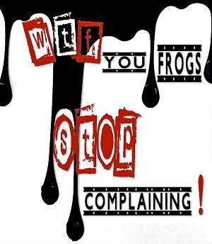 Piece-de-theatre-Genevieve_Champagne-WTF-you-frogs-stop-complaining-photo-courtoisie-publiee-par-INFOSuroit_com
