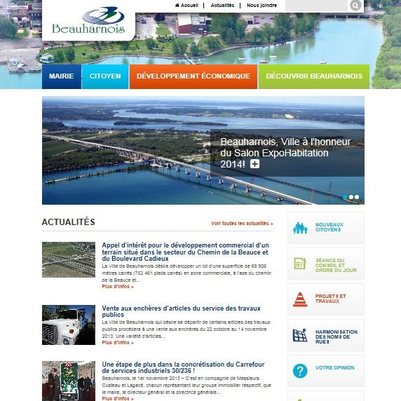 Beauharnois-nouveau-site-Internet-novembre-2013-Capture-ecran