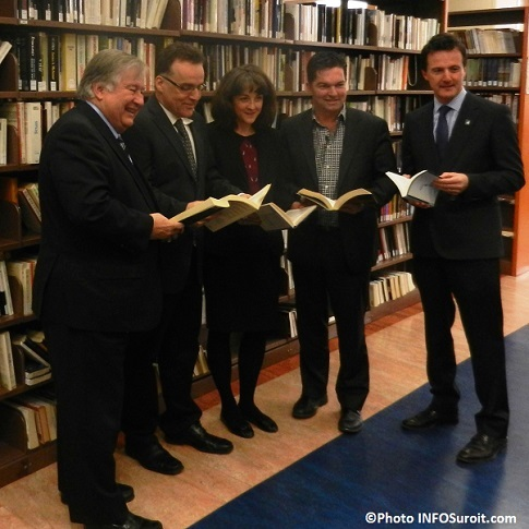 Bibliotheque-Denis_Lapointe-Andre_Grenier-Josee_Lavallee-Guy_Leclair-et-Guy_Laperriere-Photo-INFOsuroit_com