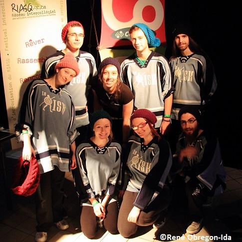 Impro-Le-Risk-du-College-de-Valleyfield-apres-tournoi-Saint-Cassette-Photo-courtoisie