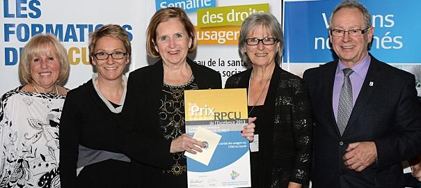Membres-comite-usagers-CSSS-Suroit-congres-prix_rpcu_2013-photo-courtoisie-publiee-par-INFOSuroit_com