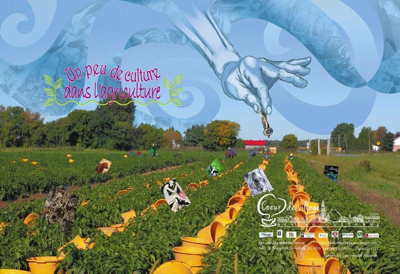 Affiche-exposition-un_peu_de_culture_dans_agriculture-Coeur_de_Village-par-INFOSuroit_com