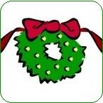 Couronne-de-Noel-temps-des-Fetes-image-CPA-publiee-par-INFOSuroit_com