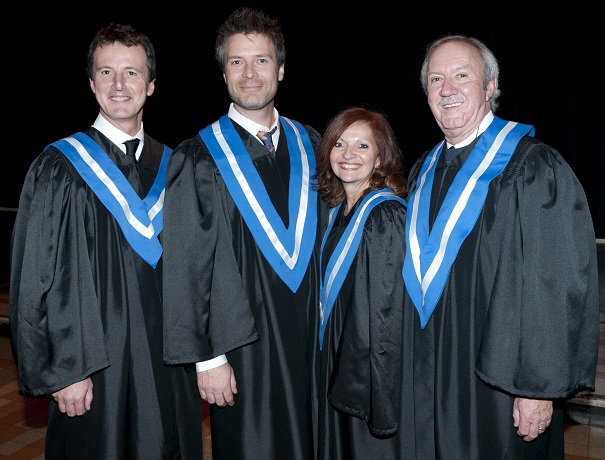 Guy_Laperriere-Stephane_Archambault-Suzie_Grondin-et-Jean-Claude_Lecompte-Photo-College-de-Valleyfield