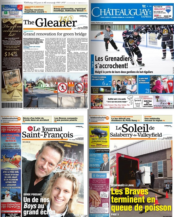 Transaction-entre-TC-Media-et-Quebecor-photos-Gleaner-Chateauguay_Express-Le_Soleil_Valleyfield-Saint_Francois-publiees-par-INFOSuroit_com