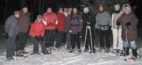 Amis-du-parc-des-iles-st-timothee-randonnee-de-nuit-raquettes-janvier-2011-Photo courtoisie