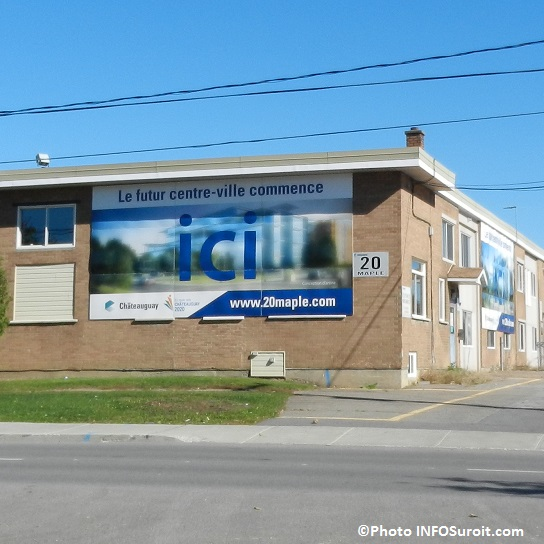 Projet-centre-ville-Chateauguay-20-rue-Maple-ancien-garage-municipal-Photo-INFOSuroit_com
