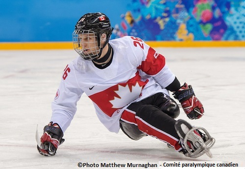 Sotchi-DominicLarocque-hockey-sur-luge-Photo-Matthew_Murnaghan-Comite-paralympique-canadien