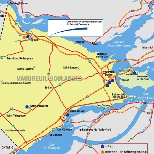 CSSS-Vaudreuil-Soulanges-carte-des-installations-avec-logo-Publiee-par-INFOSuroit