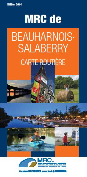 Carte-routiere-2014-MRC-Beauharnois-Salaberry
