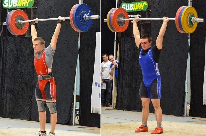 Olivier_Dupuis-et-Gilles_Caza-au-Championnat-provincial-scolaire-Halterophilie-Photo-courtoisie