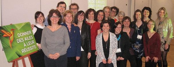 Symposium-Vaudreuil-Soulanges-Operation-Colibri-animateurs-et-des-membres-comite-organisateur-Photo-courtoisie-CSSS