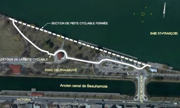 Plan-detour-piste-cyclable-fermee-parc-Delpha-Sauve-Valleyfield-Image-courtoisie