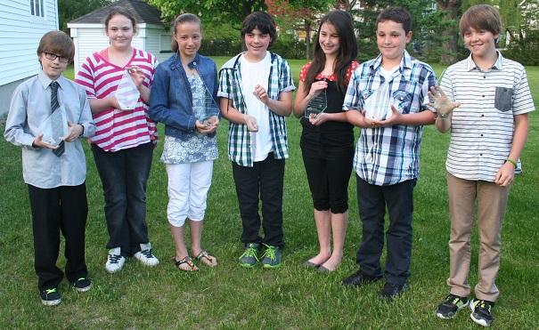 Sept-jeunes-gagnants-au-conours-Maires-d-un jour-de-la-MRC-Beauharnois-Salaberry-Photo-courtoisie