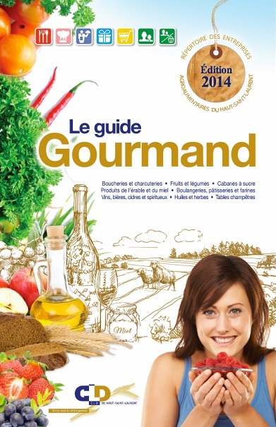 Guide-Gourmand-2014-du-CLD-Haut-St-Laurent-couverture