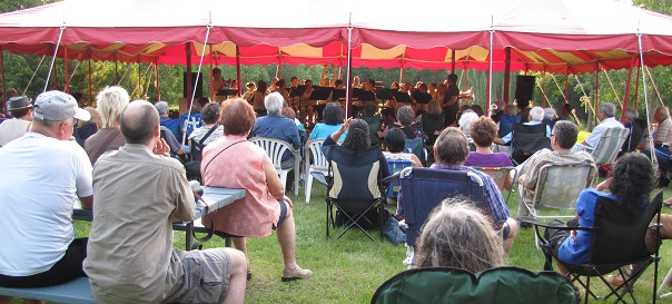 Concert-parc-Gaetan_Montpetit-Orchestre-vent-Suroit-Sainte_Martine-photo-courtoisie-publiee-par-INFOSuroit_com